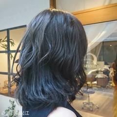 ゆるふわ デート グラデーションカラー 大人かわいい ヘアスタイルや髪型の写真・画像