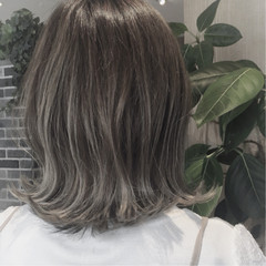 女子力 モード アウトドア セミロング ヘアスタイルや髪型の写真・画像