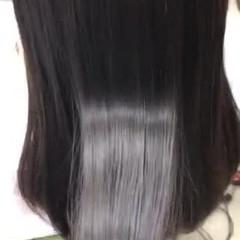 美髪 ツヤ髪 髪質改善 セミロング ヘアスタイルや髪型の写真・画像