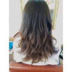 外国人風 グラデーションカラー 大人かわいい ストリート ヘアスタイルや髪型の写真・画像