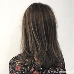 個性的 モード イルミナカラー こなれ感 ヘアスタイルや髪型の写真・画像