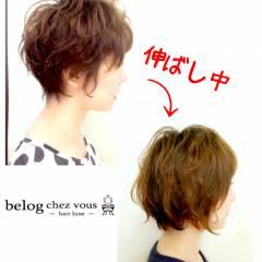 ストリート ショート ボブ パーマ ヘアスタイルや髪型の写真・画像