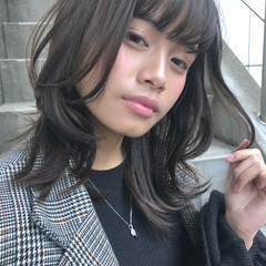 ウェーブ ゆるふわ ナチュラル 簡単 ヘアスタイルや髪型の写真・画像