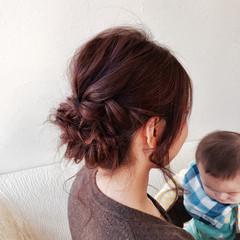 ヘアアレンジ ショート 結婚式 簡単ヘアアレンジ ヘアスタイルや髪型の写真・画像