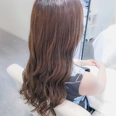 ロング 艶髪 上品 リラックス ヘアスタイルや髪型の写真・画像