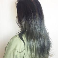 アンニュイ ゆるふわ ロング ブリーチ ヘアスタイルや髪型の写真・画像