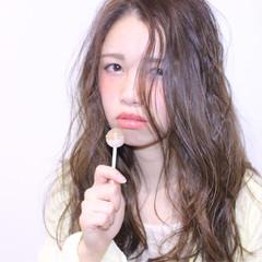 簡単ヘアアレンジ ロング ゆるふわ 大人かわいい ヘアスタイルや髪型の写真・画像