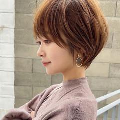 ショートヘア ウルフカット ベリーショート ナチュラル ヘアスタイルや髪型の写真・画像