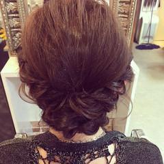 簡単ヘアアレンジ ヘアアレンジ アンニュイほつれヘア 結婚式 ヘアスタイルや髪型の写真・画像