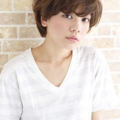 かわいい 小顔 ストリート ナチュラル ヘアスタイルや髪型の写真・画像