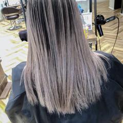 ロング ストリート ハイライト グラデーションカラー ヘアスタイルや髪型の写真・画像
