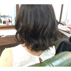 暗髪 ゆるふわ ガーリー 大人かわいい ヘアスタイルや髪型の写真・画像