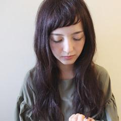 ウェーブ 秋 パーマ ナチュラル ヘアスタイルや髪型の写真・画像