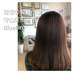髪の病院 名古屋市守山区 髪質改善 ナチュラル ヘアスタイルや髪型の写真・画像