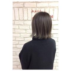 ハイライト ワンカール モード 色気 ヘアスタイルや髪型の写真・画像