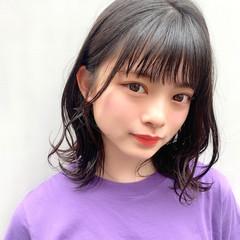 ミディアム 大人可愛い フェミニン ヘアアレンジ ヘアスタイルや髪型の写真・画像