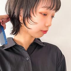 黒髪ショート ショートヘア 黒髪 ショート ヘアスタイルや髪型の写真・画像