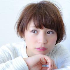 田中美保 マッシュ ショートボブ ショート ヘアスタイルや髪型の写真・画像