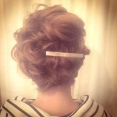 パンク ショート 二次会 結婚式 ヘアスタイルや髪型の写真・画像