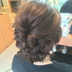 ショート ナチュラル ロング 簡単ヘアアレンジ ヘアスタイルや髪型の写真・画像
