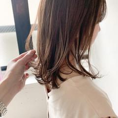 ミディアムレイヤー アンニュイほつれヘア ミディアム こなれ感 ヘアスタイルや髪型の写真・画像
