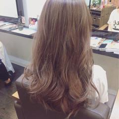 渋谷系 外国人風 セミロング ガーリー ヘアスタイルや髪型の写真・画像