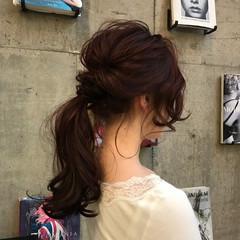 オフィス エレガント アウトドア 女子会 ヘアスタイルや髪型の写真・画像