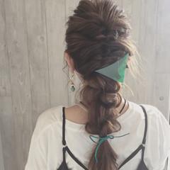 くるりんぱ ヘアアレンジ 大人女子 ロング ヘアスタイルや髪型の写真・画像