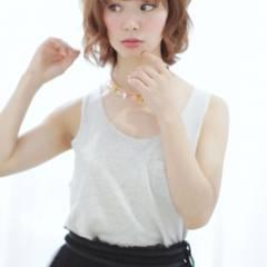 フェミニン モテ髪 ゆるふわ ナチュラル ヘアスタイルや髪型の写真・画像