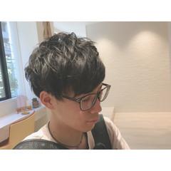モード ショート マッシュ メンズ ヘアスタイルや髪型の写真・画像