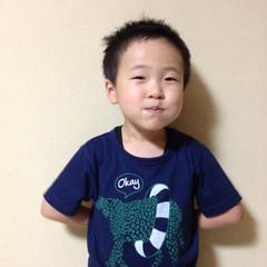 子供 ボーイッシュ メンズ ショート ヘアスタイルや髪型の写真・画像