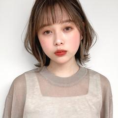 髪質改善 縮毛矯正 イヤリングカラー アンニュイほつれヘア ヘアスタイルや髪型の写真・画像