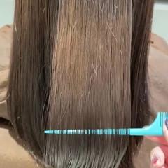 エレガント 髪質改善トリートメント 最新トリートメント ロング ヘアスタイルや髪型の写真・画像