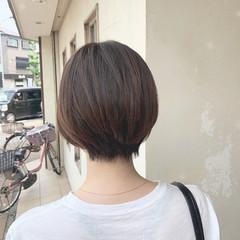 ベリーショート 3Dハイライト ショート ショートボブ ヘアスタイルや髪型の写真・画像