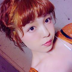 春 簡単ヘアアレンジ 女子会 夏 ヘアスタイルや髪型の写真・画像