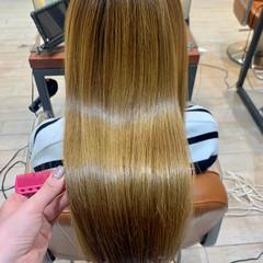 大人かわいい 髪質改善トリートメント ロング 髪質改善 ヘアスタイルや髪型の写真・画像