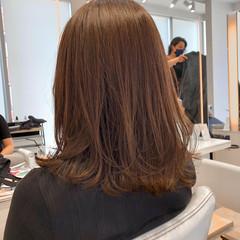 デート アンニュイほつれヘア オフィス フェミニン ヘアスタイルや髪型の写真・画像
