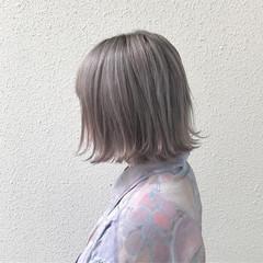 アウトドア ハロウィン オフィス ボブ ヘアスタイルや髪型の写真・画像