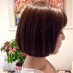 サラサラ ストレート かわいい 簡単 ヘアスタイルや髪型の写真・画像