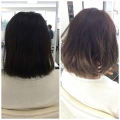 グラデーションカラー 黒髪 外国人風 ストリート ヘアスタイルや髪型の写真・画像