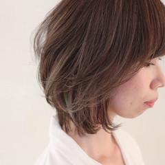 ストリート ボブ 女子会 アンニュイ ヘアスタイルや髪型の写真・画像