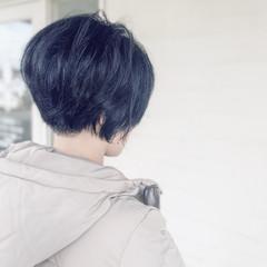 ショート ハンサムショート 刈り上げショート 小顔ヘア ヘアスタイルや髪型の写真・画像