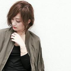 コンサバ こなれ感 暗髪 アッシュ ヘアスタイルや髪型の写真・画像