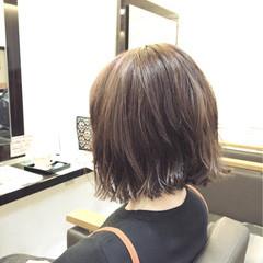 アッシュ 外ハネ ストリート 暗髪 ヘアスタイルや髪型の写真・画像