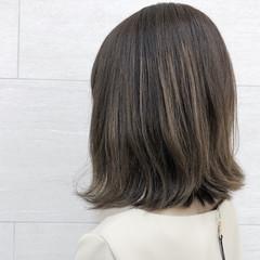 大人女子 ボブ ミディアム ナチュラル ヘアスタイルや髪型の写真・画像