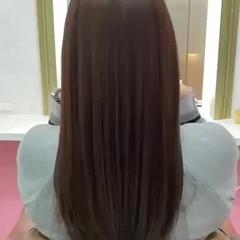 可愛い 髪質改善トリートメント ナチュラル 艶髪 ヘアスタイルや髪型の写真・画像