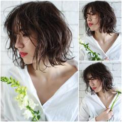 外国人風 ナチュラル 外国人風カラー 外ハネ ヘアスタイルや髪型の写真・画像