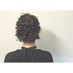 まとめ髪 夏 ヘアアレンジ お祭り ヘアスタイルや髪型の写真・画像