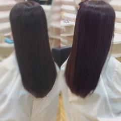 髪質改善 髪質改善カラー ナチュラル ロングヘア ヘアスタイルや髪型の写真・画像