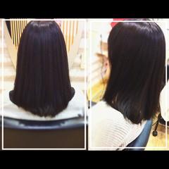 艶髪 エレガント 髪質改善トリートメント オフィス ヘアスタイルや髪型の写真・画像